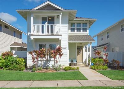Ewa Beach Single Family Home For Sale: 91-1187 Kaikohola Street #D82