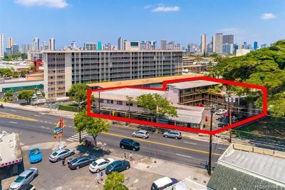 Honolulu Multi Family Home For Sale: 934 Kapahulu Avenue