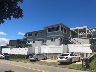 Single Family Home For Sale: 1653 Kealia Drive
