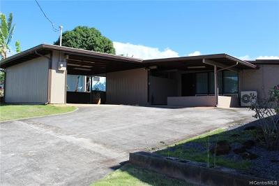 Pearl City Single Family Home For Sale: 1581 Hoomoana Place