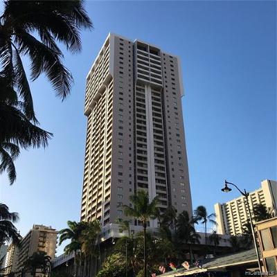 Condo/Townhouse For Sale: 2240 Kuhio Avenue #1310