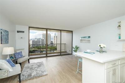 Honolulu Condo/Townhouse For Sale: 411 Hobron Lane #1408