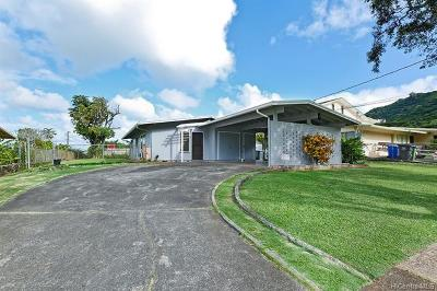 Kaneohe Single Family Home For Sale: 45-163 Namoku Street