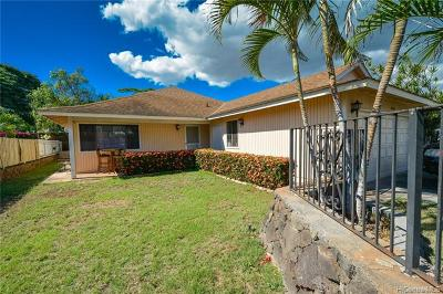 Ewa Beach Single Family Home For Sale: 91-130 Iheihe Place