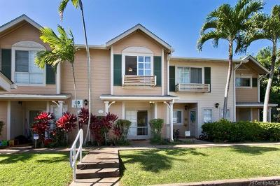 Waipahu Condo/Townhouse For Sale: 94-742 Lumiauau Street #DD4