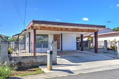 Honolulu County Single Family Home For Sale: 91-1746 Ala Loa Street