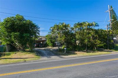 Kailua Single Family Home For Sale: 44 Kaneohe Bay Drive