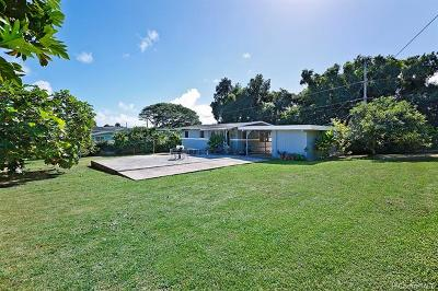 Kaneohe Single Family Home For Sale: 47-191 Pulama Place