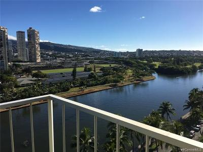 Honolulu Condo/Townhouse For Sale: 2115 Ala Wai Boulevard #1204