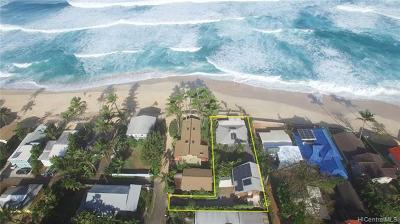 Haleiwa Single Family Home For Sale: 59-175b Ke Nui Road