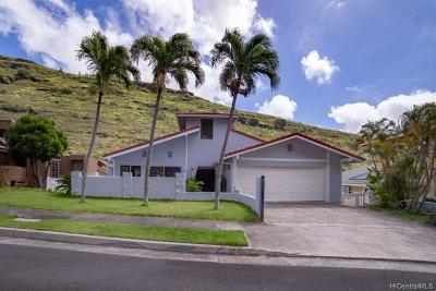 Single Family Home In Escrow Showing: 489 Anolani Street