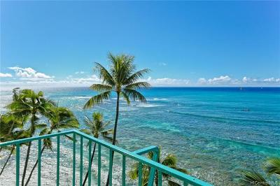 Honolulu Condo/Townhouse For Sale: 2999 Kalakaua Avenue #801
