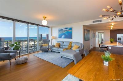 Honolulu County Condo/Townhouse For Sale: 888 Kapiolani Boulevard #3205