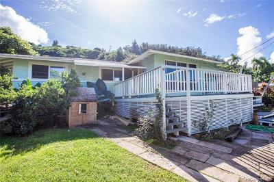 Haleiwa Single Family Home For Sale: 59-742 Kamehameha Highway #C