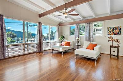 Single Family Home For Sale: 3654 Kumu Street
