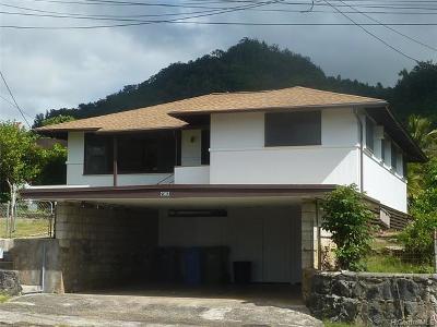 Honolulu Single Family Home For Sale: 2383 Jennie Street