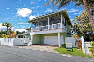 Kailua Single Family Home For Sale: 411 Kihapai Street #A