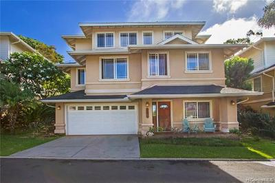 Kapolei Single Family Home For Sale: 92-1083 Palahia Street #J