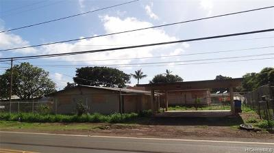 Single Family Home For Sale: 84-871 Lahaina Street