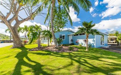 Kailua Single Family Home For Sale: 1302 Akamai Street