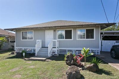 Ewa Beach Single Family Home For Sale: 91-1712 Burke Street