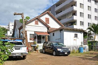 Multi Family Home For Sale: 1158 Lunalilo Street
