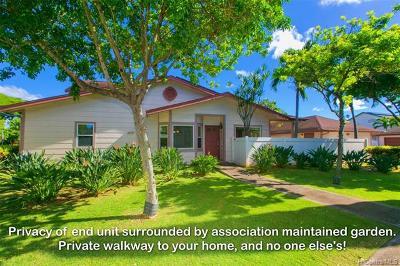 Ewa Beach Condo/Townhouse For Sale: 91-1059 Keoneula Boulevard #F6