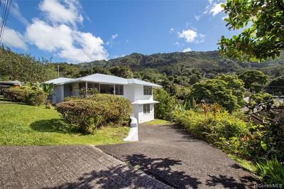 Single Family Home For Sale: 3581 Akaka Place