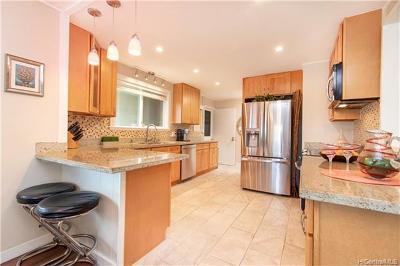 Single Family Home For Sale: 3609 Loulu Street