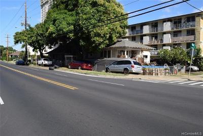 Honolulu Single Family Home For Sale: 702 Palani Avenue