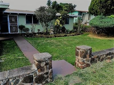 Pearl City Single Family Home For Sale: 2168 Komo Mai Drive