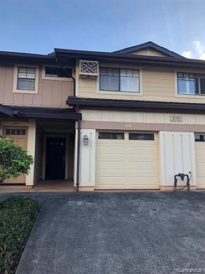 Honolulu County Condo/Townhouse In Escrow Not Showing: 95-929 Ukuwai Street #402