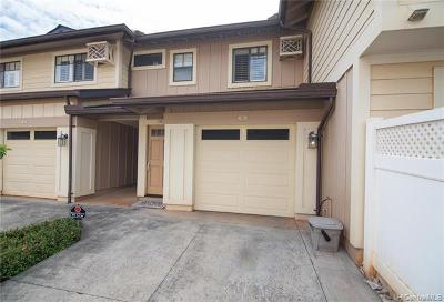 Mililani Condo/Townhouse For Sale: 95-929 Ukuwai Street #405