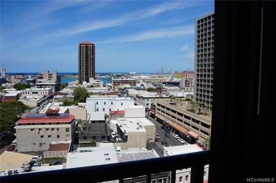 Honolulu Condo/Townhouse For Sale: 60 N Beretania Street #1201