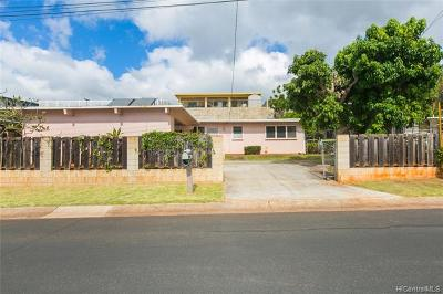 Pearl City Single Family Home For Sale: 1562 Hoolana Street