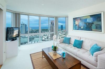 Honolulu Condo/Townhouse For Sale: 801 S King Street #3603