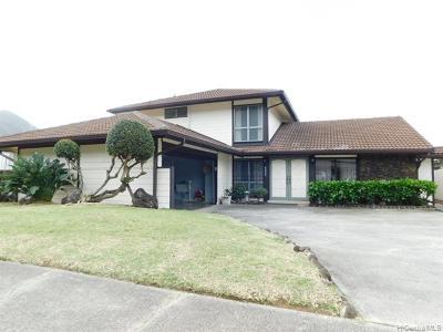 Honolulu Single Family Home For Sale: 6802 Niumalu Loop