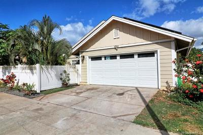 Honolulu County Single Family Home For Sale: 87-1026 Ahekai Street