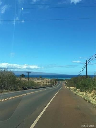 Maui County Residential Lots & Land For Sale: Kamehameha V Highway