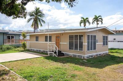 Honolulu County Single Family Home For Sale: 84-1132 Hana Street #A