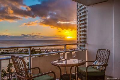 Honolulu County Condo/Townhouse For Sale: 1777 Ala Moana Boulevard #1326