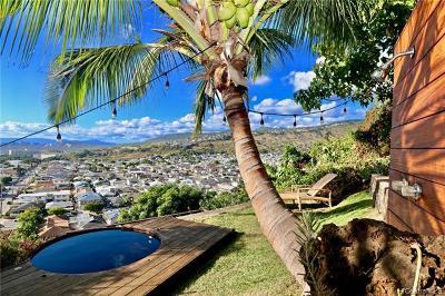 Honolulu, Kailua, Waimanalo, Honolulu, Kaneohe Single Family Home For Sale: 3405 Sierra Drive