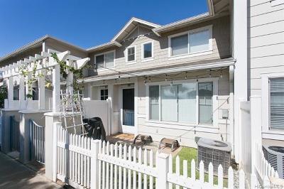 Ewa Beach Condo/Townhouse For Sale: 91-1031 Kaimalie Street #4J4