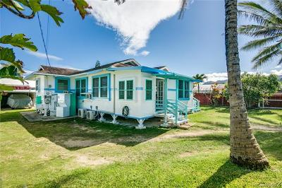 Laie Single Family Home For Sale: 55-347 Kamehameha Highway