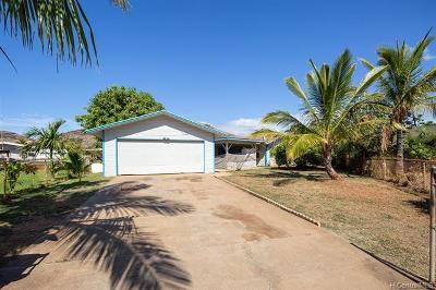 Waianae Single Family Home For Sale: 87-211 Kipahele Place