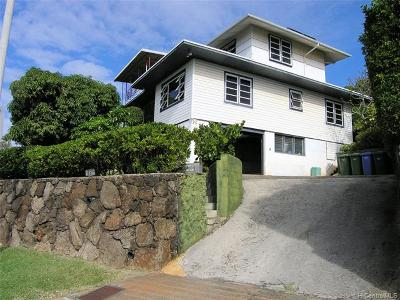 Honolulu HI Single Family Home For Sale: $1,095,000