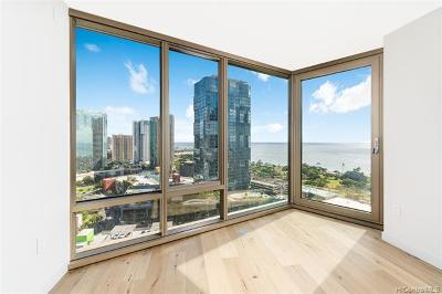 Honolulu Condo/Townhouse For Sale: 1001 Queen Street #2202