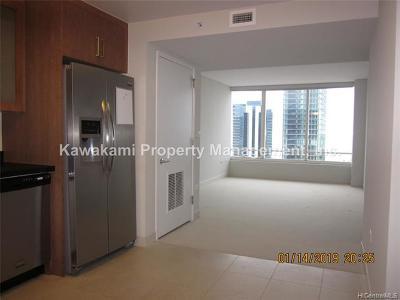 Honolulu Rental For Rent: 1009 Kapiolani Boulevard #3704