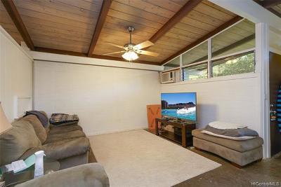 Honolulu Single Family Home For Sale: 3308 Pakanu Street