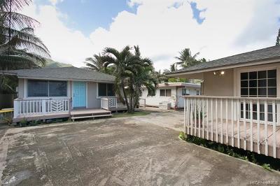 Hauula Single Family Home For Sale: 53-922 Kamehameha Highway